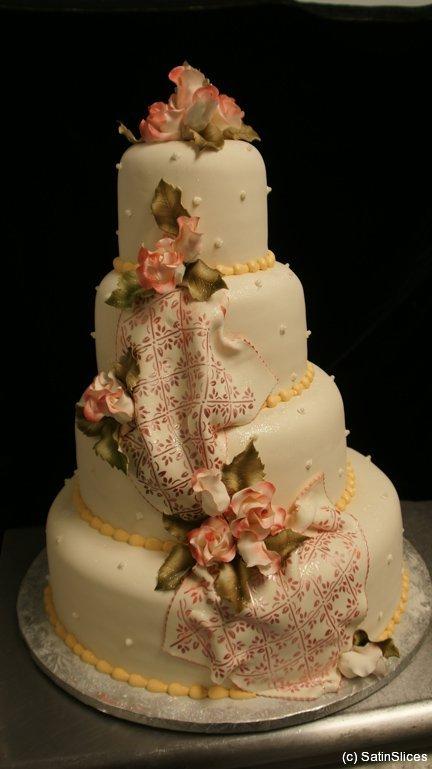 houston wedding cakes satinslices. Black Bedroom Furniture Sets. Home Design Ideas